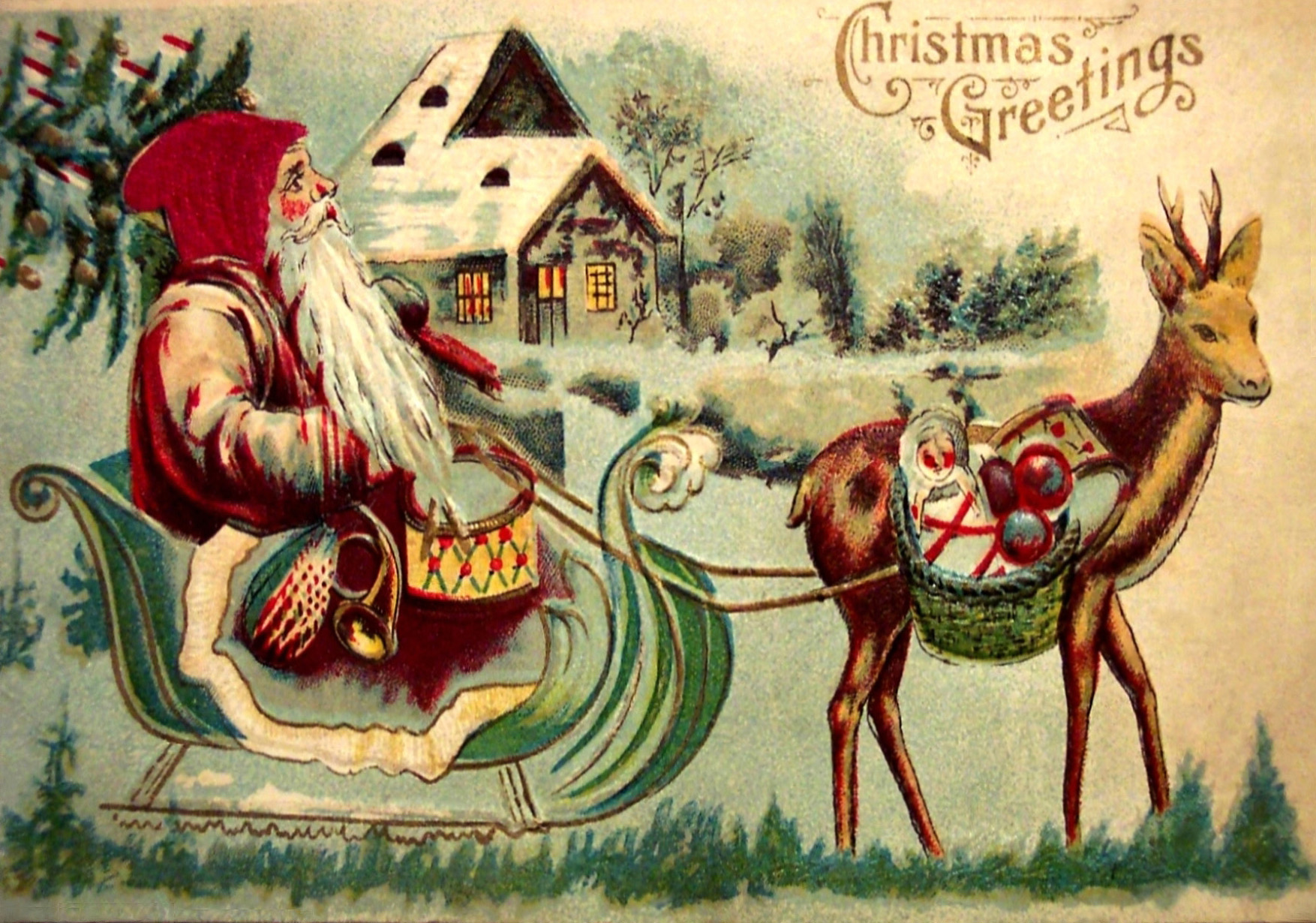 レトロなクリスマス