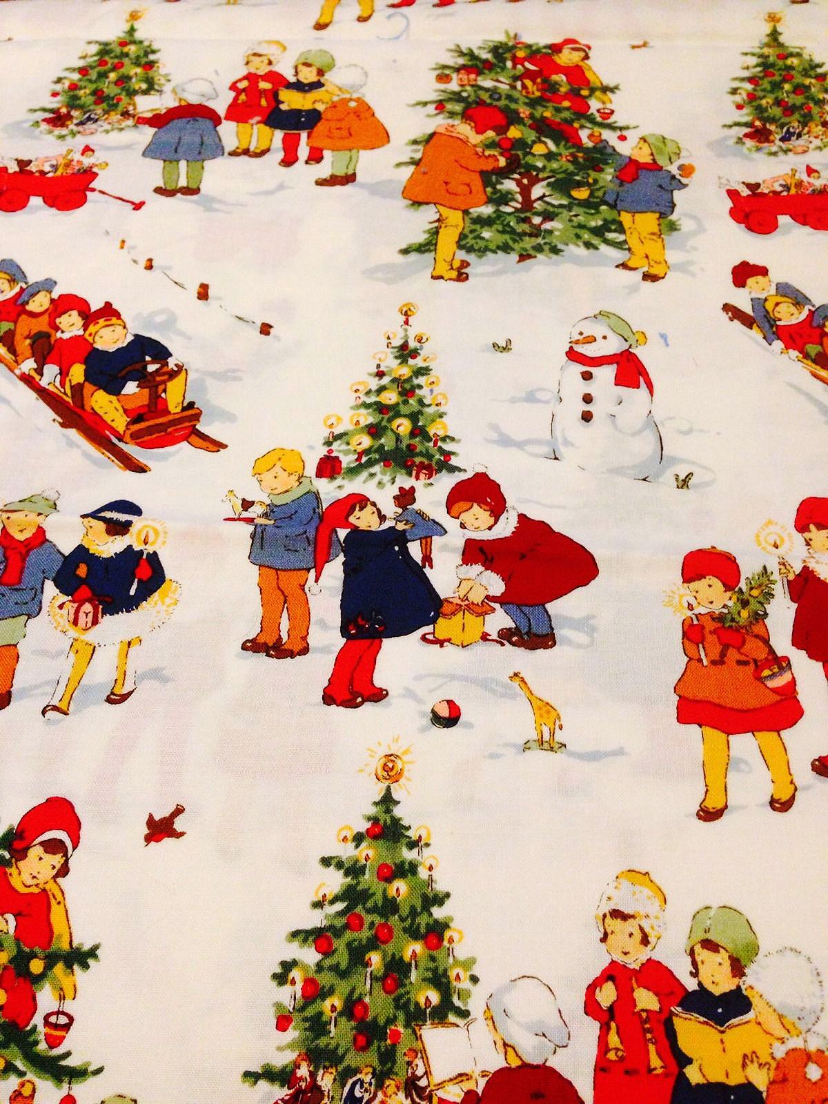 レトロで可愛いクリスマス用イラスト無料素材 | ramica