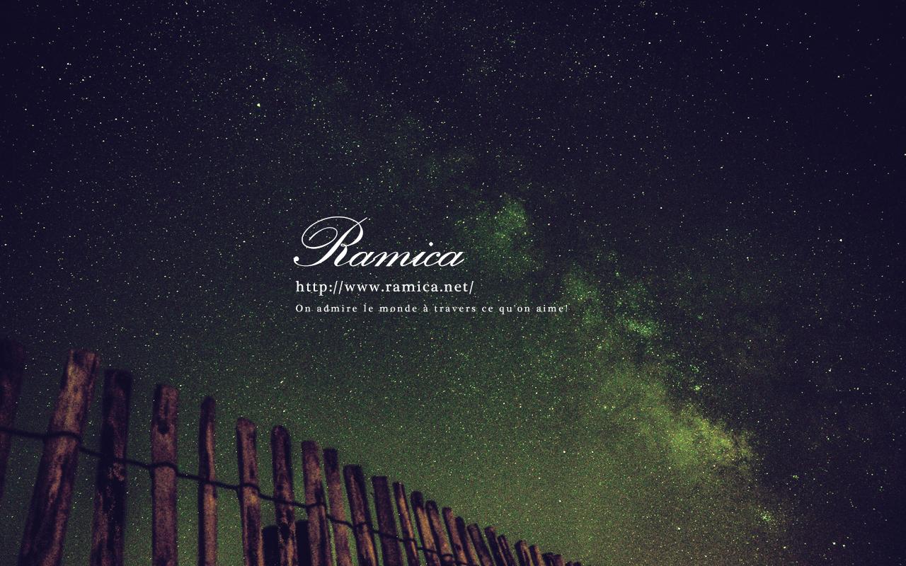Pc パソコン用無料壁紙ダウンロード 夜空の向こうに Ramica