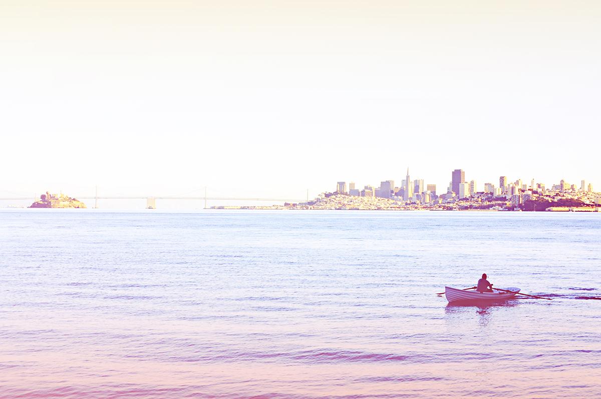 無料で使えるフリー画像 写真素材 海と都会 Ramica