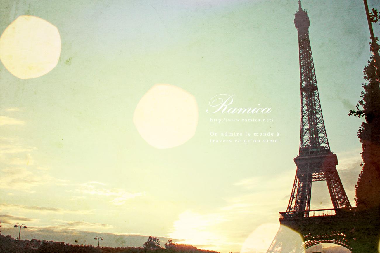 外国の風景 お洒落な フランス テーマ Pcデスクトップ壁紙