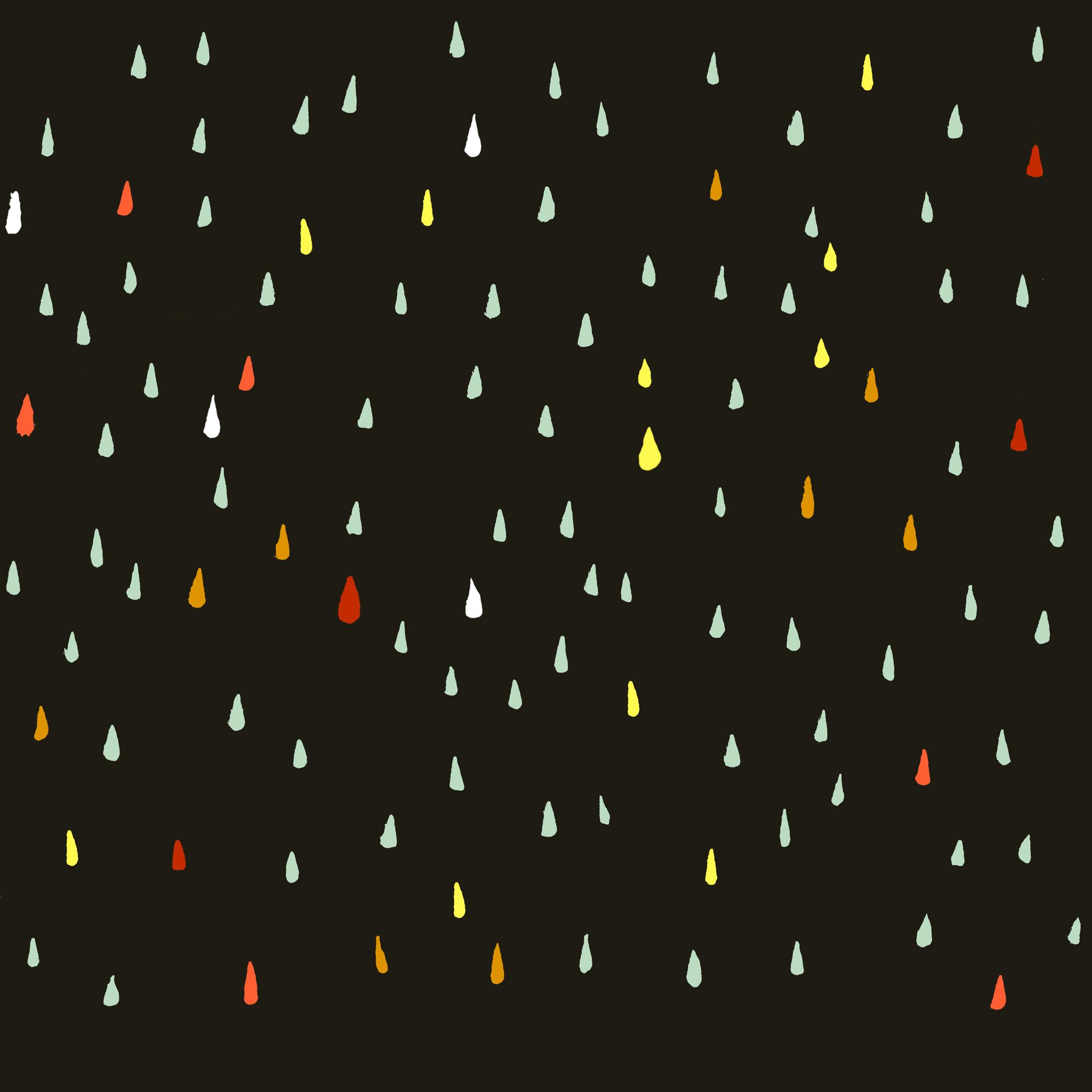 かわいい水玉模様の壁紙 Ramica